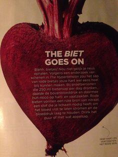 Hoge bloeddruk aanpakken met rode bietjes
