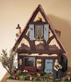 Melissa's miniaturen (charming cottage and so beautifully detailed) mit Tutorial für Spültisch
