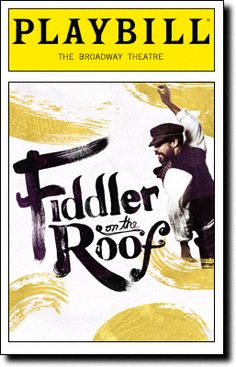 Fiddler on the Roof at the Broadway Theatre. Opening night, December 2015.