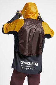 Undercover Lab X Nike Running Gyakusou Collection Sport Fashion, Mens Fashion, Jun Takahashi, Evolution Of Fashion, Undercover, Rain Jacket, Hiking Jacket, Men's Jacket, Long Sleeve Tops