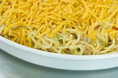 Pioneer Woman Chicken Spaghetti This really is a fabulous casserole, and the only one in existence that Marlboro Man, our cowboys, and my children will eat. It's officially called Chicken Spaghetti, but because of my additi… Chicken Spaghetti Pioneer Woman, Pioneer Woman Chicken, The Pioneer Woman, Pioneer Women, Chicken Spaghetti Casserole, Chicken Spaghetti Recipes, Chicken Recipes, Chicken Spagetti, Baked Chicken