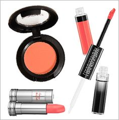 Coral Colored Makeup Products | The Zoe Report