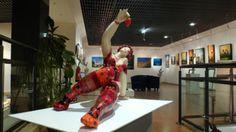 René Fine présente des artistes internationaux à la Galerie Leclerc Gap
