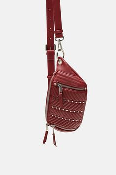 Stylish Fanny Pack, Zara United States, Belts For Women, Fashion 2020, Travel Bags, Sling Backpack, Women's Accessories, Backpacks, Wallet
