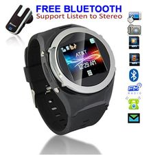 Amazon.com: Unlocked! GSM Touch Screen Watch Phone w/ Free Bluetooth Headset [aT&T / T-Mobile]: Cell Phones & Accessories