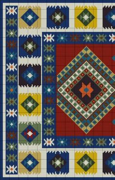 Gallery.ru / Фото #4 - Anchor Kilim Carpet - azteca