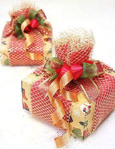 Как оформить новогодний подарок - Подарки своими руками