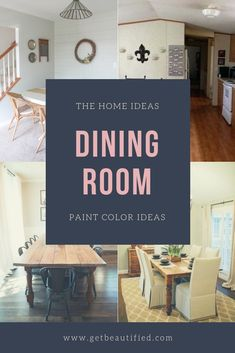 Our dining-room color inspiration gallery features our most popular color schemes. From modern-day to standard, get influenced by these stylish dining-room paint color. #diningroom#paint#color#ideas#design#wall#table