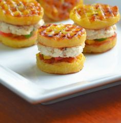 Funke Koleosho's Food Blog: Mini Plantain & Fish Bites