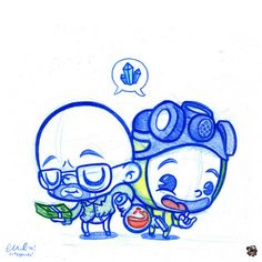 Blue Doodles #48: Breaking Bad!