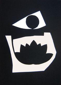 """andrea mattiello """"ombra""""22   collage su carta cm 25x35; 2012 #arte #art #artecontemporanea #artista #artistaemergente #creatoredimmagini #tecnicamista #carta #paper #collage"""