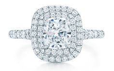Tiffany Soleste engagement ring
