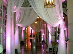 Drape and lighting at the Fairmont by WishLaura, via Flickr