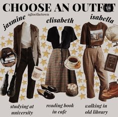 Classy Outfits, Fall Outfits, Vintage Outfits, Casual Outfits, Cute Outfits, Fashion Outfits, Womens Fashion, Movie Outfits, Mode Grunge