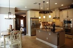 Providence Homes in Greenleaf Village currently has two models. Here is The 1982 model kitchen. #Nocatee
