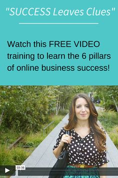Dreaming of running your own online business? Watch this free online video training series now! Craft Business, Home Based Business, Online Business, Business Motivation, Business Advice, School Enrollment, How To Find Out, How To Make Money, Tutoring Business