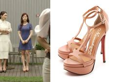 "Lee Se-Young in ""Trot Lovers"" Episode 4.  Namuhana T-Strap Sandals #Kdrama #TrotLovers #트로트의연인 #LeeSeYoung #이세영"