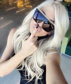 "Jelena Karleuša /JK OFFICIAL en Instagram: ""Thank you @eyechic_philly  I love love my new limited edition #stellamccartney sunglasses! """
