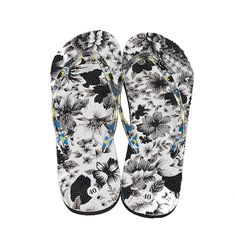 Senza Fretta Summer Women Sandal Flip Flops Flower Printing Design Flat With Sandals Slippers Surfing Casual. Click visit to buy #WomenFlipFlop