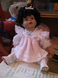 Seymour Mann Porcelain Dolls   Oprah a Seymour Mann Original Porcelain Doll