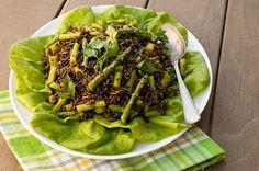 Wild Rice and Asparagus Salad