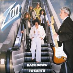 Zon - Back Down To Earth CANADA 1979 Lp mint w/Inner