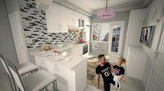 #3dsmaxdesign  mutfak gorseli