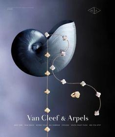 "Van Cleef & Arpels Jewellery: ""ALHAMBRA"" Print Ad by Avrett Free ..."