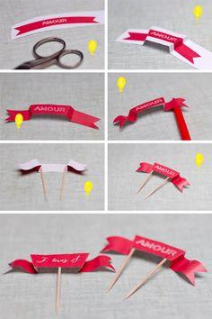 DIY * petites banderoles