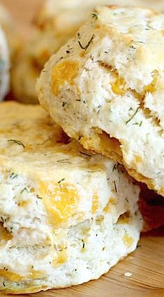 Ina Garten's Cheddar-Dill Scones I used ham, cheddar, and green onions and made 1/2 recipe.