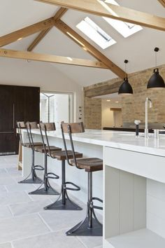 a view to a beautiful kvik kitchen ❤ manokvik. kvik keukens