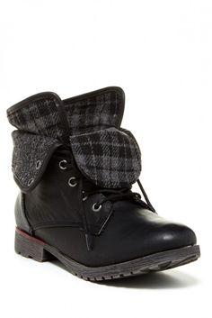 ZIGI Rock & Candy Spraypaint Lace-Up Boot