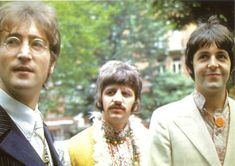 John, Ringo, and Paul...Really like this one of John!