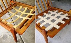 Danish Modern Chair Restoration - I need to do this, I have 3 of these chairs!
