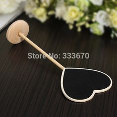 Cheap table picnic, Buy Quality table ornament directly from China blackboard manufacturers Suppliers: Item Description: Description Mini Heart Blackboard Specification Material :Wood