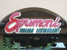 Spumoni Italian Restaurant, Newbury Park CA