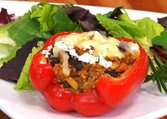 Chipotle Tuna Stuffed Peppers from Clover Leaf Seafoods