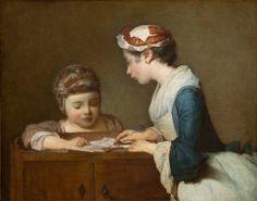 The Little Schoolmistress - Image