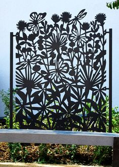 Portfolio of our latest laser cut projects. - Grace & Webb - Bespoke laser cut screens and panels for luxury architectural and interior projects Laser Cut Screens, Laser Cut Panels, Laser Cut Metal, Garden Gates, Garden Art, Garden Design, Metal Gates, Metal Screen, Metal Garden Screens