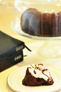 Comparing the cake to scriptures. You can't taste the cake by staring at it, just like you can't taste the goodness of the scriptures by not opening them. Great analogy for kids.