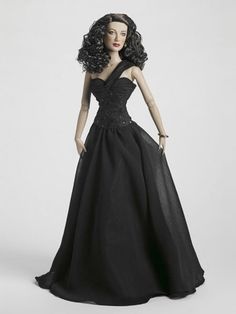 Ava Gardner Black Magic | Tonner Doll Company  This doesn't look a BIT like Ava Gardner, but it's a lovely doll