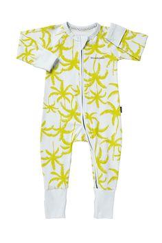 Bonds Zip Wondersuit   Palms For Days Print