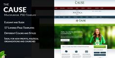 See More The Cause - Multipurpose Non-Profit PSD Templateonline after you search a lot for where to buy