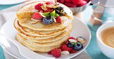 Whole Grain Pancakes/Waffles ⋆ Sun Flour Mills Whole Grain Pancakes, Whole Grain Flour, Pancakes And Waffles, Vanilla Rice, Milk And Vinegar, Flour Mill, Rice Milk, Waffle Iron, Baking Soda