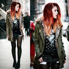 Одежда в стиле Гранж | Стиль Гранж мода, бренды