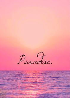 Palm trees and ocean breeze: Photo Beautiful Sunset, Beautiful Places, Pink Sunset, Pink Ocean, Ocean Sunset, Summer Sunset, Summer Beach, I Love The Beach, Beach Quotes