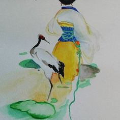 🎨✏ Geisha. 🇯🇵  #geisha #japan #watercolor #water #colorful #art #japaneseart #drawing #artist #girl #princess #artwork #draw