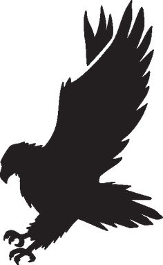 animal footprint track vector graphic files pinterest rh pinterest com hawk clipart black and white hawk clipart cartoon