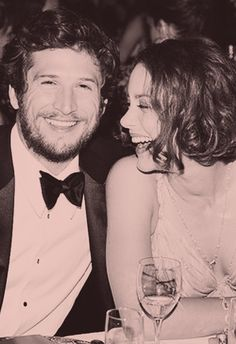 Guillaume Canet and Marion Cotillard. My favorite French couple.