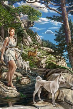 The Greek Godess Artemis